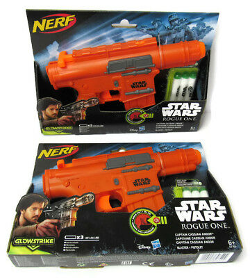 Star Wars NERF Gun with sound x 2 Rogue One NEW with Darts Nerf Wars