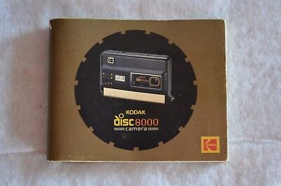 Vintage Kodak Disc 8000 Manual