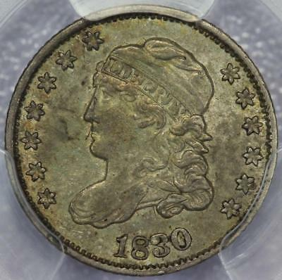 1830 Capped Bust Half Dime PCGS AU55 - Great Type Coin  - *DoubleJCoins* PP23