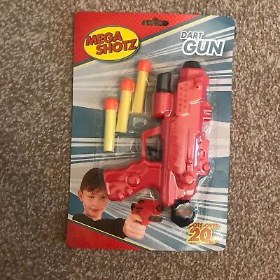Kids Nerf Gun Pistol toys Dart Guns With Soft Bullet Outdoor Play