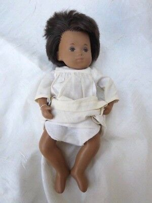 "Vintage 1970-78 Sasha Sexed Girl Baby Doll 11"" with Silver Tag"