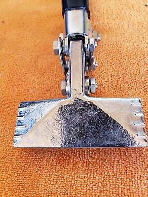 """OUTSTANDING!! Malco Sheet Metal 3"""" Hand Seamers S2  Bender with Rubber Handles"""