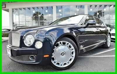 Bentley Mulsanne ~~~ LIKE NEW ~~~ IN OUR SHOWROOM ~~~ MINT ~~~ TAMPA FLORIDA 2011 LUXURY Used Turbo 6.8L V8 16V Automatic RWD Moonroof