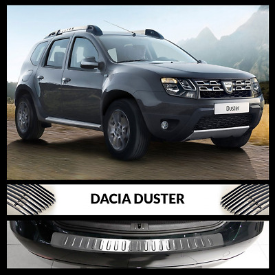 New DACIA DUSTER Rear Bumper Chrome Sill Cover / Protector Stainless Steel