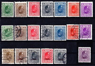 YUGOSLAVIA 1926-33 King Alexander Selection MNH & USED 4 Scans.