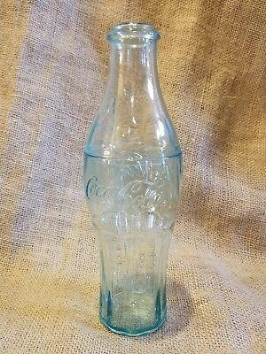 "Plastic Coca Cola bottle bank 9.75"" tall EUC"
