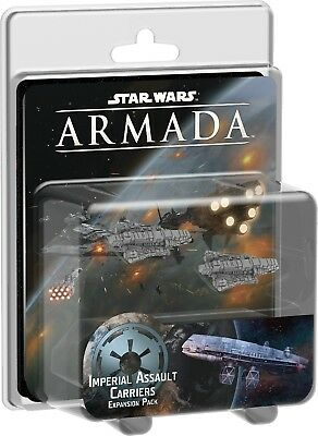 Star Wars Armada Imperial Assault Carriers Expansion Pack by Fantasy Flight