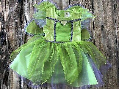 Disney Store Baby Girl 18-24 Months Tinkerbell Costume Dress W Wings New