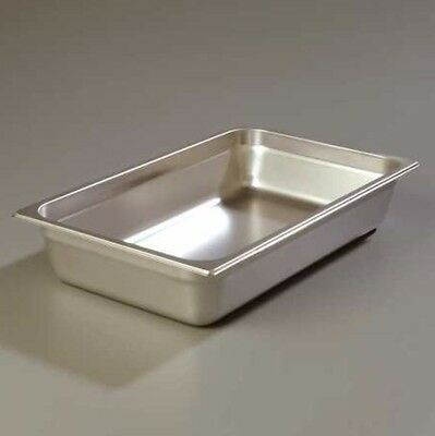 CARLISLE 608004 DuraPan Food Pan, Full Size, SS, PacK of 6