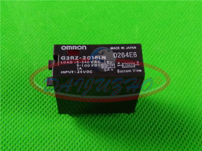 Omron New G3RZ-201SLN Solid State Relay 24VDC