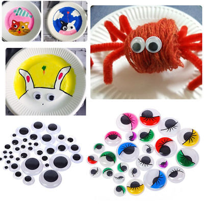 100Pcs Plastic Safety Moveable Eyes For Bear Doll Animal Puppet Crafts DIY