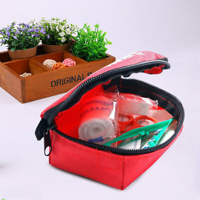 11pcs Family First Aid Kit Set Rescue Outdoor Emergency Bag Travel Survival
