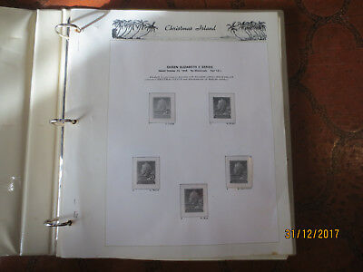 No--2 -CHRISTMAS IS;  ALBUM  1958--1993  --HINGLESS   PAGES   ODD  MARK  --USED