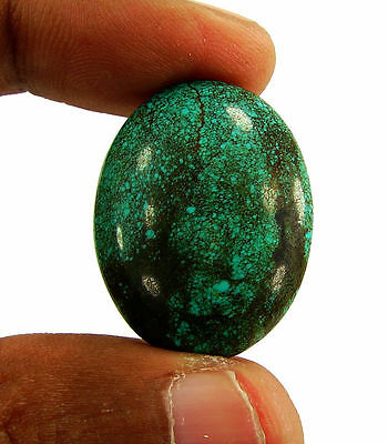 27.10 Ct Natural Tibet Turquoise Loose Gemstone Cabochon Stone - 15338