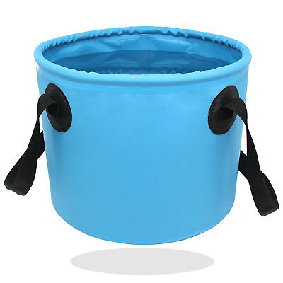 14L Folding Basin Collapsible Water Bucket for Camping Traveling Hiking Fishing