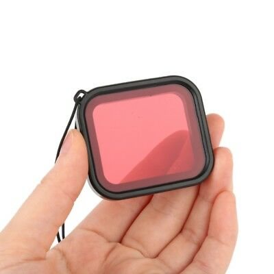 USA Diving Filter Lens Cover For GoPro Hero 6 5 Waterproof Housing Case RED