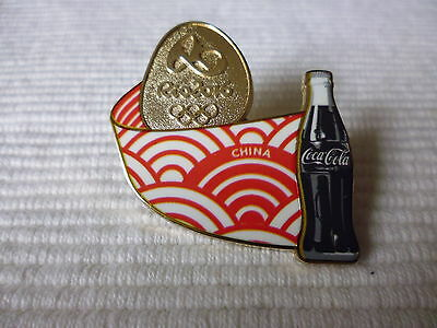 1 Coca Cola Olympia Brasilien 2016 Länder Pin China