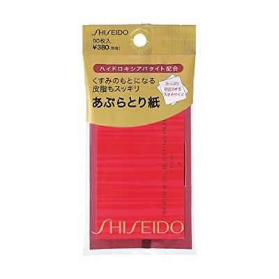 JAPAN Shiseido Sebum & Oil Blotting Paper 90-Sheets x 3/6/9 Pack Set w/ TRACK