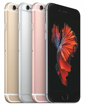Brand New in Sealed Box Apple iPhone 6s - 16/64/128GB Unlocked Smartphone 4 COL
