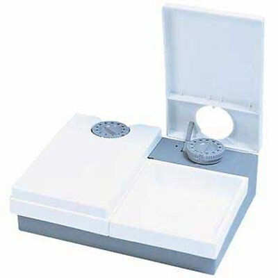 Dog Cat Feeder with Ice Pack Automatic 2 Meals Two Cats Kittens or Small Dogs