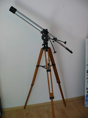 Panorama Astronomical Telescope, D= 60mm F= 900 mm Holzstativ Astronomie
