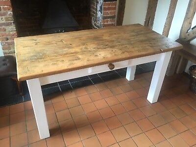 Farmhouse Kitchen / Dining Wooden Table