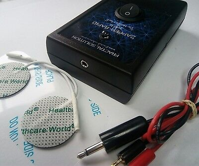 ORGONE 30kHz ZAPPER Dr. Hulda Clark ZAPPER-RAPID with Gel Pad electrodes