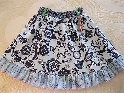 "CAKEWALK - Girls Skirt - Size 8 - ""Ellese in Wonderland"" -EUC"