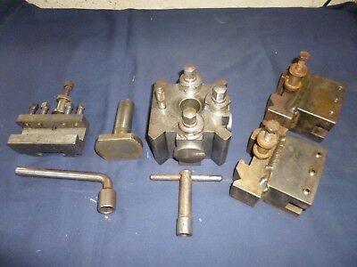 Colchester Student Lathe T4 Dickson quick change toolpost with holders