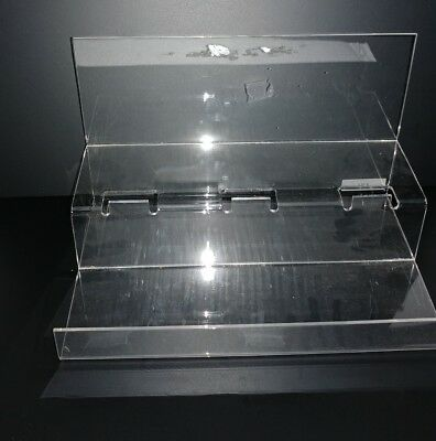 2 Tier Acrylic Display Stands Risers