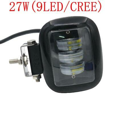 27W CREE SPOT LED Offroad Work Light Lamp 12V 24V boat Truck Driving Fog Light