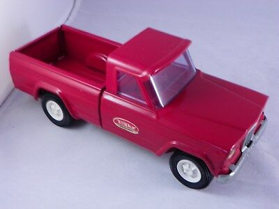 Vintage Tonka Truck Red Jeep 1960's