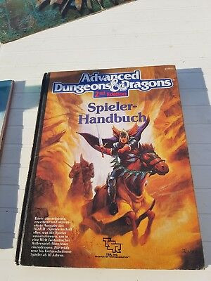AD&D SPIELER HANDBUCH 2nd Edition - Advanced Dungeons & Dragons Klasse Zustand