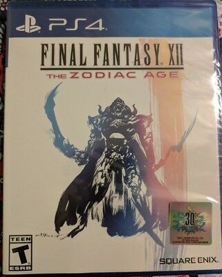 Final Fantasy XII: The Zodiac Age [PlayStation 4, PS4] BRAND NEW!!