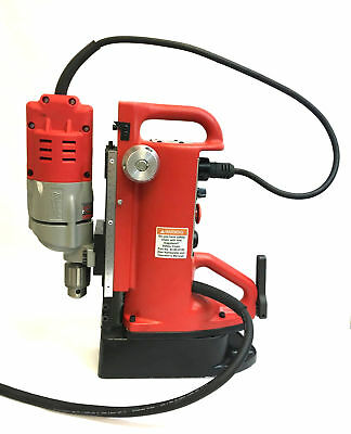 """Milwaukee 4203 Adjustable Position Electromagnetic Drill Press 1/2"""" 120V 13mm"""