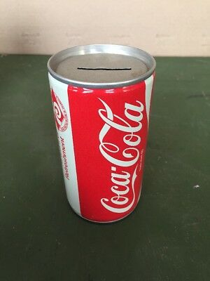 Coca Cola Can Coin Bank  75 years of refreshments edition 12 oz 75th Anniversary