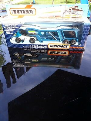 matchbox superkings k-10 car transporter