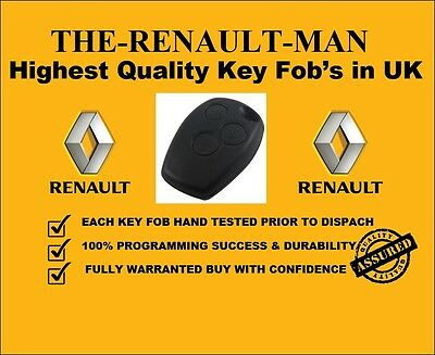 3 button key fob suitable for Renault clio lll ready to program 2006-2010