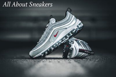 "ab5c9177dc29e Nike Air Max 97 OG ""Silver Bullet"" Women Limited & Rare Edition 885691-"