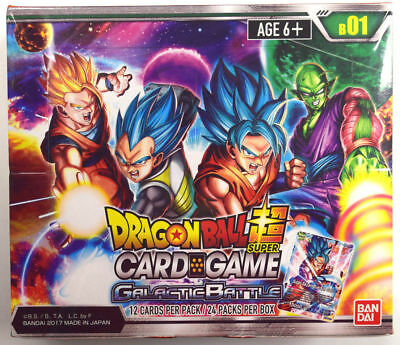 Dragon Ball Super Tcg Galactic Battle Booster Sealed Box - English
