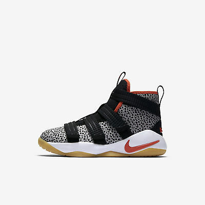 fc828f9ac9cf1 PS NIKE LEBRON Soldier 12 SFG Midnight Navy White Mineral Yellow ...