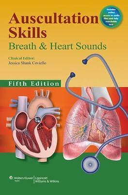 NEW! Auscultation Skills : Breath and Heart Sounds by Jessica Shank Coviello