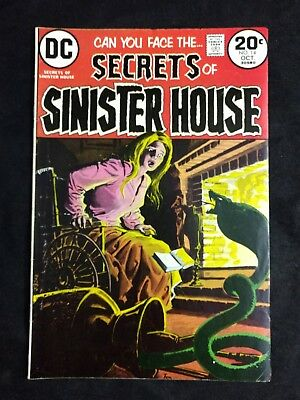Secrets of Sinister House #14 DC Comics 1973