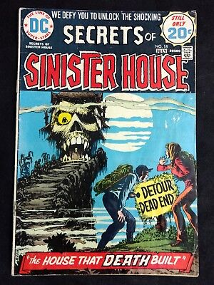 Secrets of Sinister House #18 DC Comics 1974