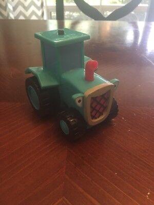 Bob The Builder Talking Travis The Tractor Pickles Farm Vehicle 2001 Hasbro Toy