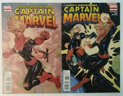 Captain Marvel #5 6 Hot series Movie in 2019 Marvel Comics 2012 Deconnick