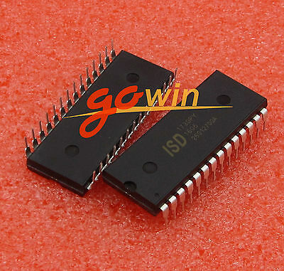 2 PCS NEW  ISD1730 ISD1730PY DIP-28 Voice Chip Original Package