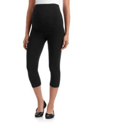 Oh! Mamma Maternity Full-Panel Capri Leggings