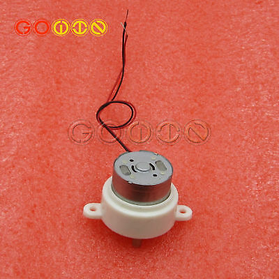 1PCS DC Geared Speed Reduce Motor 2 Wires 2 mm Shaft 6V//12V 7//10//14//20//21//40RPM