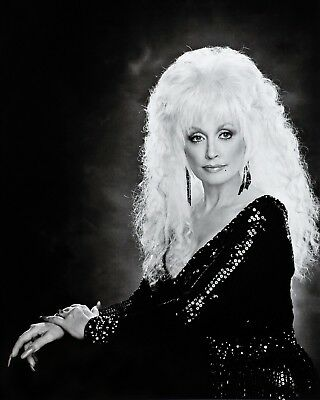 Dolly Parton Black & White Poster by Kenny Rogers 16X20